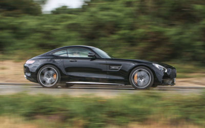 The poise and agility of the Mercedes-AMG GT C Coupe is something to savour
