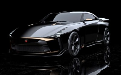 The new Nissan GT-R50 is a golden combination
