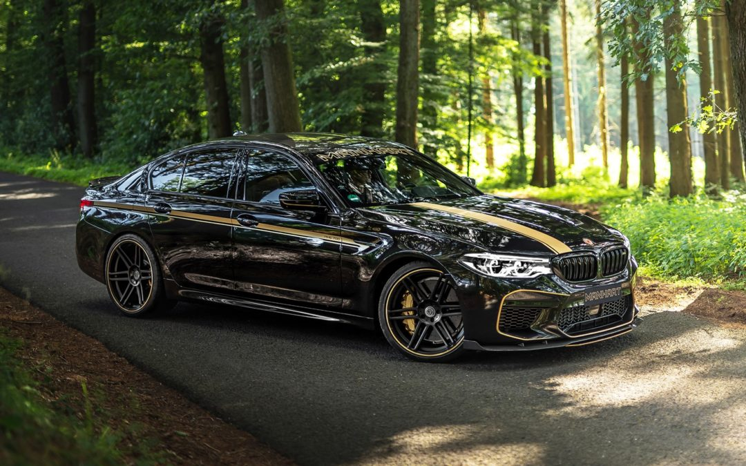 Manhart adds more power to the BMW M5