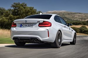 Rear end of the BMW M2 Competition for Harrington Luxury Car Finance article