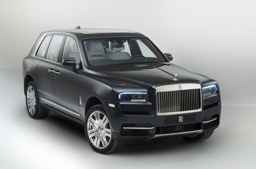 New Cullinan Rolls off the production line
